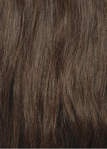 Double drawn clipin Natural Brown