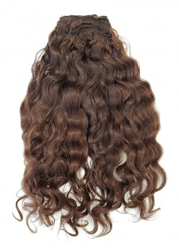 Natural curly Golden Brown