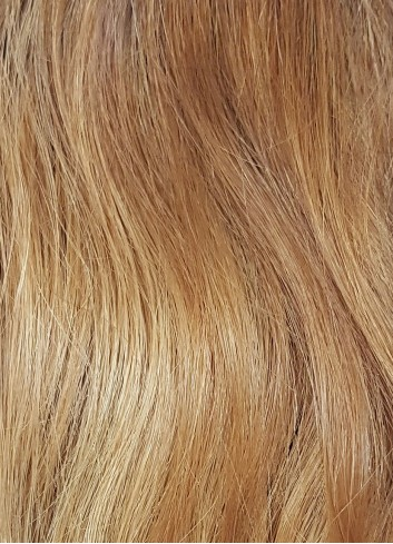 Natural straight Clipin Golden blond