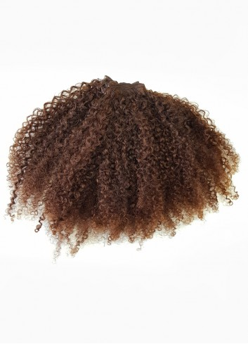 Afro kinky golden brown