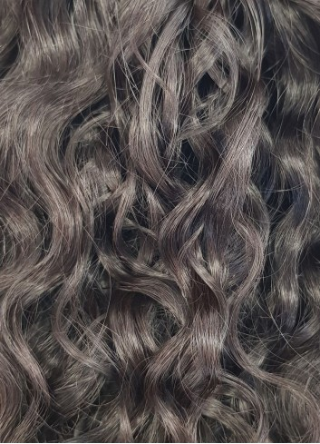 ponytail natural curly