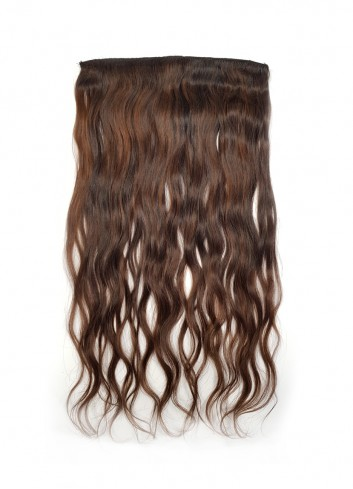 Natural straight Clipin Golden brown